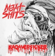 MEAT SHITS / KADAVERFICKER - split 7'' EP -