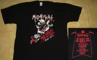 MIDNIGHT - No Mercy Tour 2015 - T-Shirt - size XXL