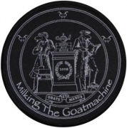 MILKING THE GOATMCHINE - Goat Et Manus - woven Patch
