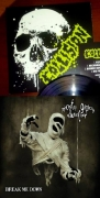 MINCING FURY AND GUTTURAL CLAMOUR OF QUEER DECAY / COLLISION - split 7'' EP -