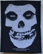 MISFITS - Skull - woven Patch
