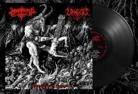 MORBOSIDAD / UNGOD - split 12'' LP - Manifestaciòn del Anticristo (Black Vinyl)