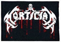 MORTICIAN - emboidered Bloody Logo Patch