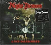 NIGHT DEMON - Digibook 2 CD -  Live Darkness