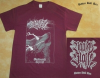 NO ONE GETS OUT ALIVE - Backwoods Spirit - wine red T-Shirt