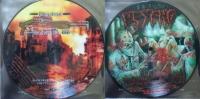 NUNWHORE COMMANDO 666 / PSYCHO - picture split 7'' EP -