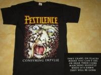 PESTILENCE - Consuming Impulse - T-Shirt Größe L