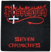 POSSESSED - Seven Churches - woven Patch