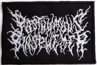POSTHUMOUS BLASPHEMER - embroidered Logo Patch