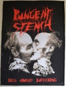 PUNGENT STENCH - Been Caught Buttering - Backpatch