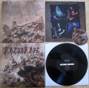"free at 150€+ orders: RAZOR RAPE - 12"" LP - Orgy in Guts - (BLACK VINYL)"