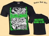RECTAL SMEGMA - Fingerbang Orang-Utan - T-Shirt size S