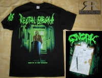 RECTAL SMEGMA - Quality is our mission - T-Shirt size L (Fehldruck)