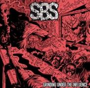 """SBS SpermBloodShit - """"Grinding Under The Influence"""" 7"""" EP (black Vinyl)"""