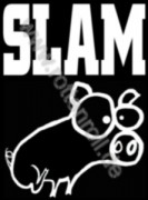 SLAM - Pig - Printed Patch