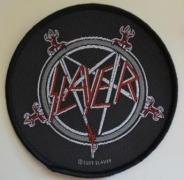 SLAYER - Pentagram Logo - woven Patch