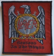 SLAYER - Seasons in the Abbyss - woven Patch