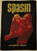 SPASM - Paraphilic Elegies - woven Patch