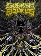 SQUASH BOWELS - digipak DVD - Grindvirus Syndrome - Live At OEF 2011