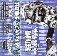 TEETHING / FEASTEM - split Tape MC -