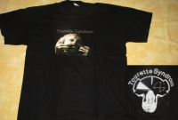 TOURETTE SYNDROM - Gabbergrind cover + Backprint - T-Shirt - size XL (2nd Hand)