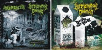 ULTIMO MONDO CANNIBALE CD Package - Mucupurulent split CD + Drink my Milk CD