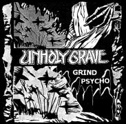 UNHOLY GRAVE / SETE STAR SEPT - spliot 12'' LP -  Grind Psycho (purple Vinyl)