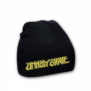 UNHOLY GRAVE - embroidered Logo Beanie