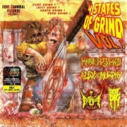 VA: 4 STATES OF GRIND VOL. 3 - split CD - VA - 4 STATES OF GRIND - w. Marasmo / Alex Murphy / Rebirth Of Pain / Brutal Pig