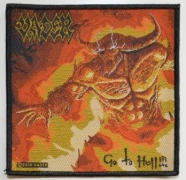 VADER - Go to Hell - woven Patch