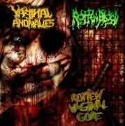 VAGINAL ANOMALIES / ROTTEN BLOOD - split CD -