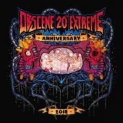 free at 10€+ orders: VA: OBSCENE EXTREME 2018 - CD - 20th Anniversary