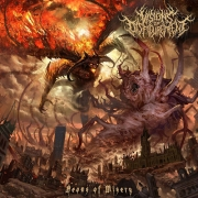 VISIONS OF DISFIGUREMENT - 12'' LP - Aeons of Misery