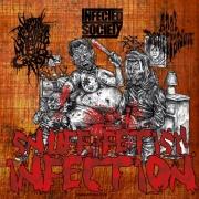"VxPxOxAxAxWxAxMxC / ANAL PENETRATION / INFECTED SOCIETY - Digipak CD - ""Snuff Fetish Infection"""