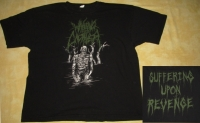 WAKING THE CADAVER - Suffering Upon Revenge - T-Shirt - size XXL (2nd Hand)