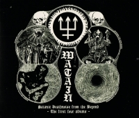 WATAIN - 4 CD - Satanic Deathnoise From The Beyond -The First Four Albums