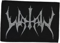 WATAIN - silver Logo - woven Patch