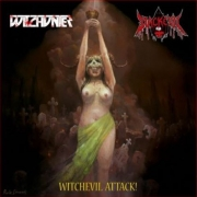 WITCHUNTER / BLACKEVIL - split 12'' LP - Witchevil Attack! (Black Vinyl)