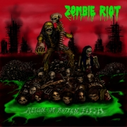 ZOMBIE RIOT - CD - Reign Of Rotten Flesh