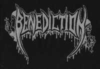 BENEDICTION - Logo - Woven Patch