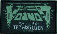 VOIVOD - Killing Technology - woven Patch