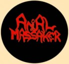 ANAL MASSAKER - Logo - Button/Badge/Pin (31)