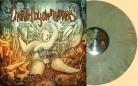 CHOKED BY OWN VOMITS - 12'' LP - Shit World (Vomit Vinyl)