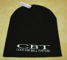 COCK AND BALL TORTURE - Original Pull-On Beanie - Schwarz