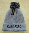 COCK AND BALL TORTURE - Snowstar® - HEATHER GREY Beanie