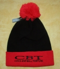 COCK AND BALL TORTURE - Snowstar® Two-Tone Beanie red - black Logo