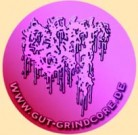 GUT - Pink Logo - Button/Badge/Pin (04)