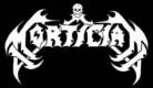 MORTICIAN - Logo - Gedruckter Aufnäher