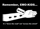 REMEMBER, EMOKIDS... - Sticker
