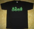 Satans Revenge On Mankind - SxRxOxM Logo - T-Shirt size XXL (2nd Hand)